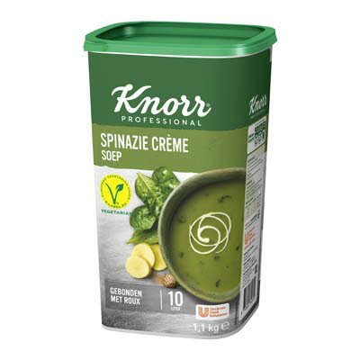 Knorr Klassiek Spinazie Crèmesoep opbrengst 10L