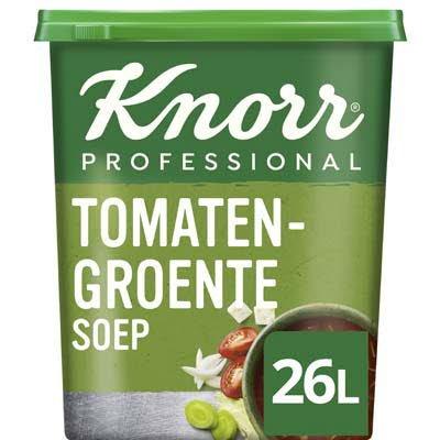 Knorr Klassiek Tomaten-Groentesoep opbrengst 26L -