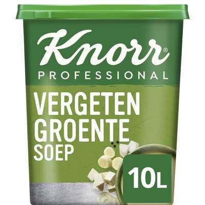 Knorr Klassiek Vergeten Groentesoep Poeder opbrengst 10L -