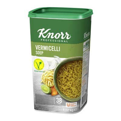 Knorr Klassiek Vermicellisoep opbrengst 36L -