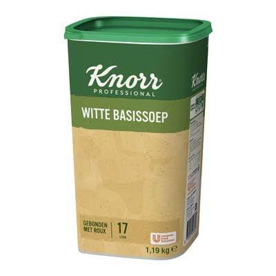 Knorr Klassiek Witte Basissoep Poeder opbrengst 17L