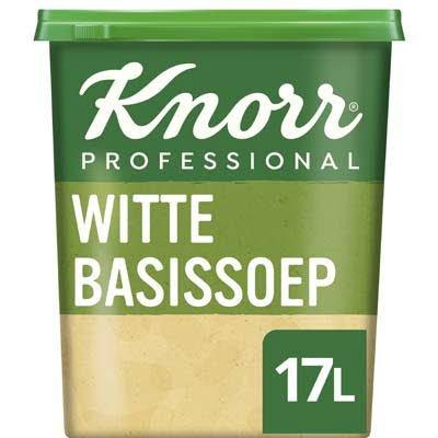 Knorr Klassiek Witte Basissoep Poeder opbrengst 17L -