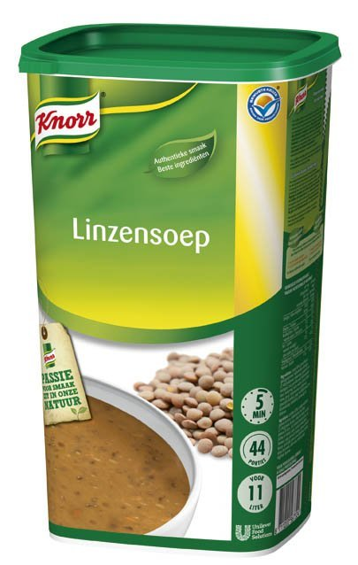 Knorr Linzensoep Poeder 11L