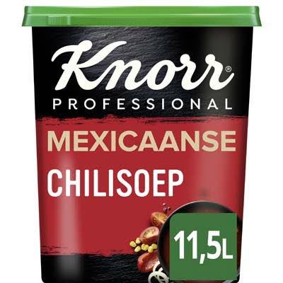 Knorr Mexicaanse Chilisoep Poeder opbrengst 11,5L -