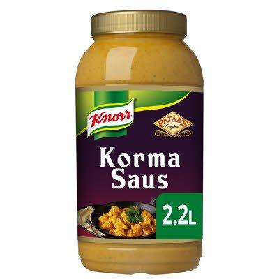 Knorr Patak's Korma Curry Saus 2.2 L