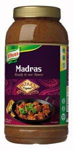Knorr Patak's Madras Saus 2.2 L