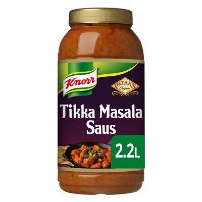 Knorr Patak's Tikka Masala Curry Saus 2.2 L