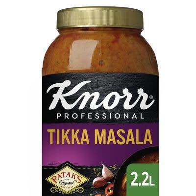 Knorr Patak's Tikka Masala Curry Saus 2.2 L -
