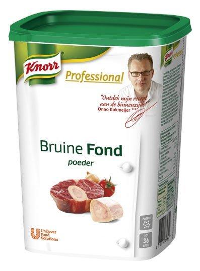 Knorr Professional Bruine Fond Poeder 18L