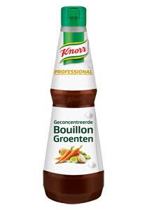Knorr Professional Geconcentreerde Groentebouillon Vloeibaar 1L