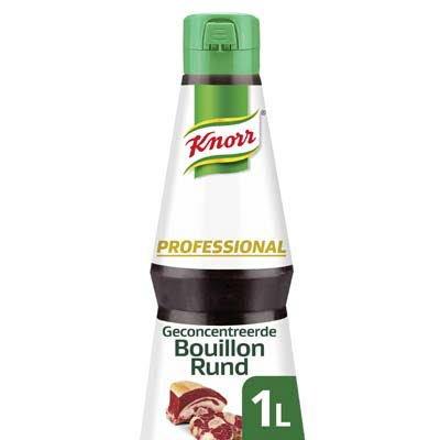 Knorr Professional Geconcentreerde Runderbouillon Vloeibaar 1L -
