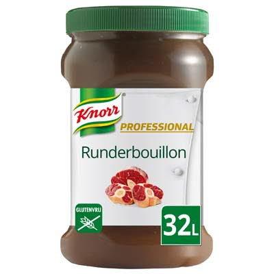 Knorr Professional Runderbouillon Gelei opbrengst 32L