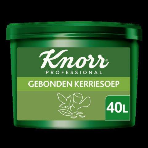 Knorr Professional Voordeel Gebonden Kerriesoep Poeder Opbrengst 40L -