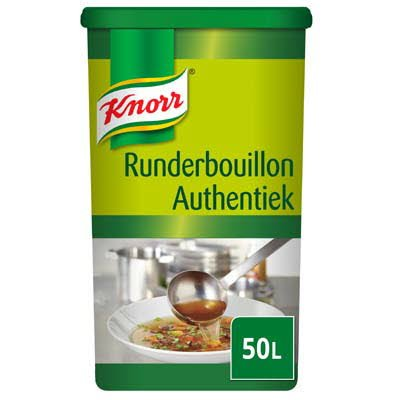 Knorr Runderbouillon Authentiek Poeder opbrengst 50L