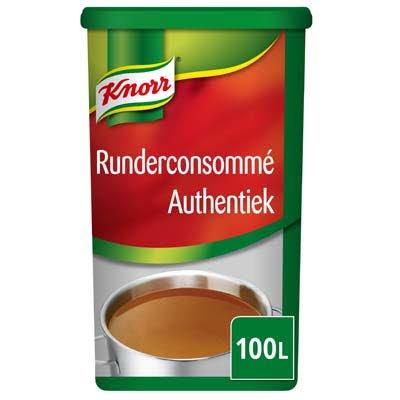 Knorr Runderconsommé Authentiek Poeder opbrengst 100L -