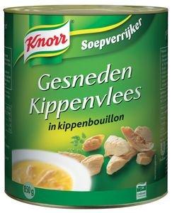 Knorr Soepverrijker gesneden kippenvlees