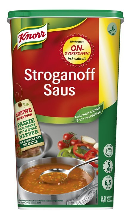 Knorr Stroganoff Saus