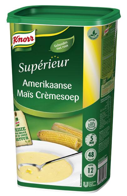Knorr Supérieur Amerikaanse Maïs Crèmesoep -