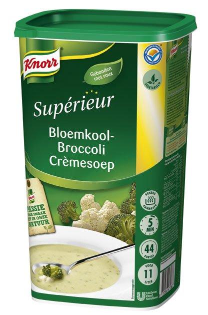Knorr Supérieur Bloemkool-Broccoli Crèmesoep Poeder 11L