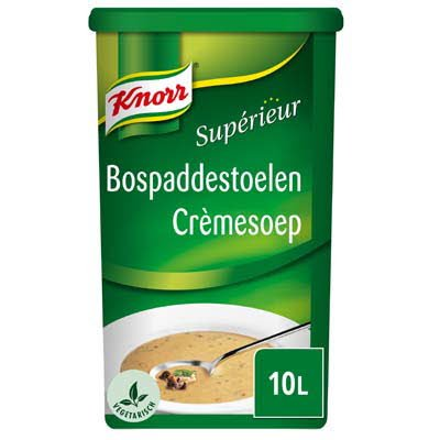 Knorr Supérieur Bospaddenstoelen Crèmesoep Poeder 10L