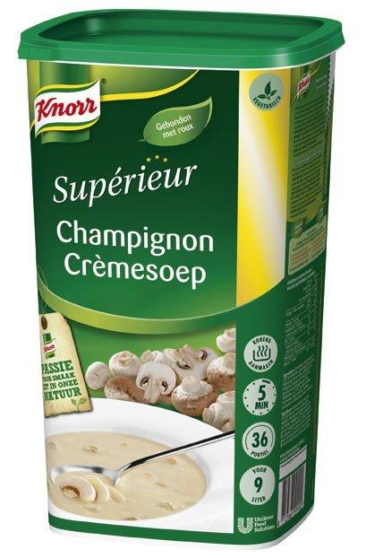 Knorr Supérieur Champignon Crèmesoep