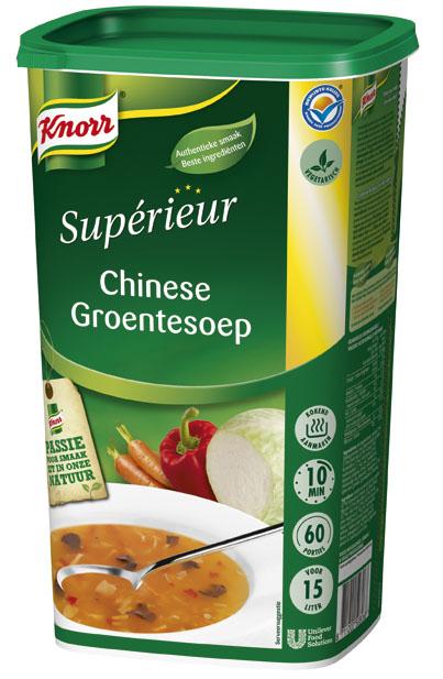 Knorr Supérieur Chinese Groentesoep -