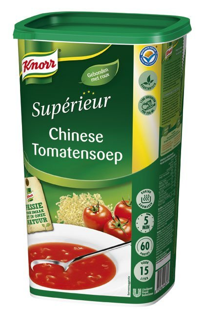 Knorr Supérieur Chinese Tomatensoep Poeder 15L