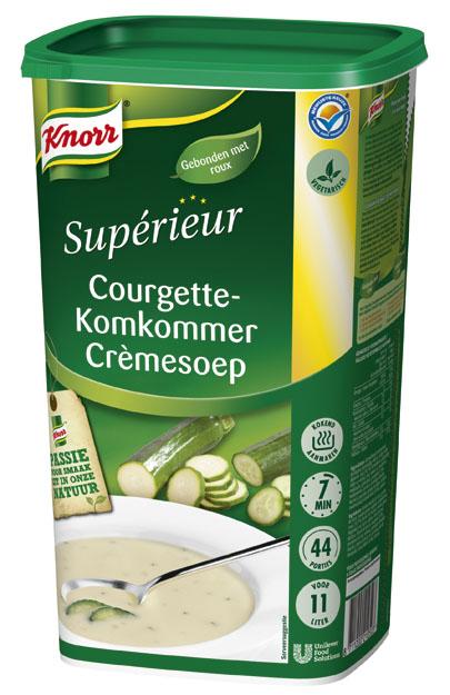 Knorr Supérieur Courgette-Komkommer Crèmesoep -