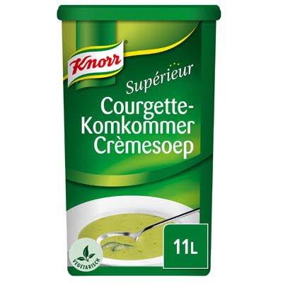 Knorr Supérieur Courgette-Komkommer Crèmesoep Poeder 11L