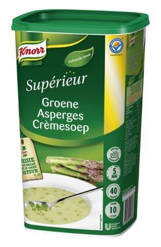 Knorr Supérieur Groene Asperges Crèmesoep