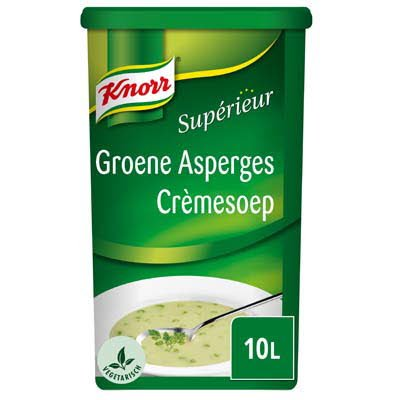 Knorr Supérieur Groene Asperges Crèmesoep Poeder 10L -