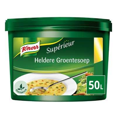 Knorr Supérieur Heldere Groentesoep Poeder 50L -