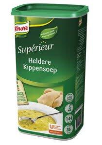 Knorr Supérieur Heldere Kippensoep Poeder 36L