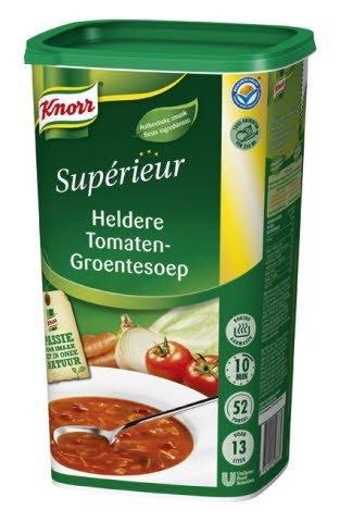 Knorr Supérieur Heldere Tomaten-Groentesoep Poeder 13L