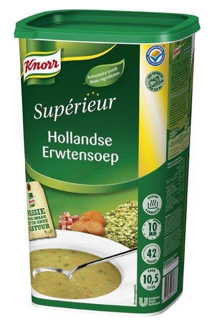 Knorr Supérieur Hollandse Erwtensoep Poeder 10,5L