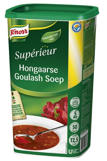 Knorr Supérieur Hongaarse Goulashsoep