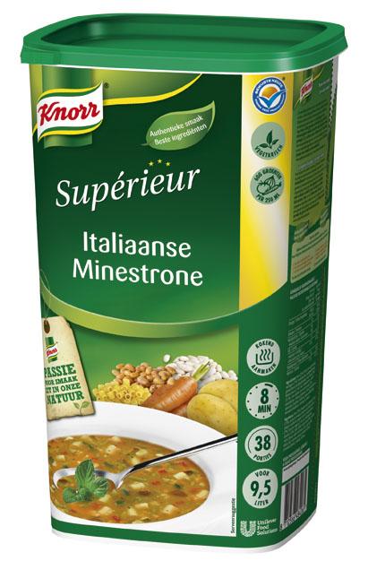 Knorr Supérieur Italiaanse Minestronesoep  -