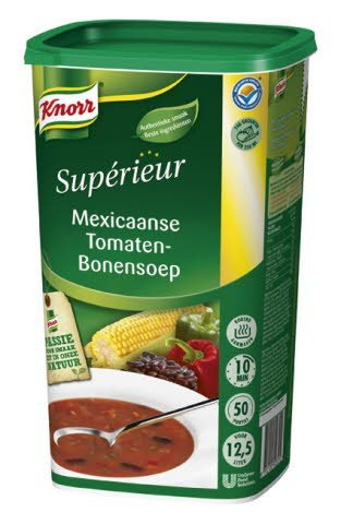 Knorr Supérieur Mexicaanse Tomaten-Bonensoep