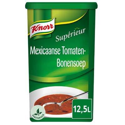Knorr Supérieur Mexicaanse Tomaten-Bonensoep Poeder 12,5L