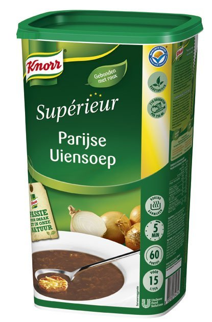 Knorr Supérieur Parijse Uiensoep Poeder 15L