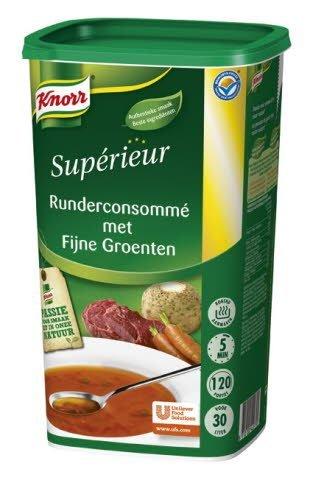 Knorr Supérieur Runderconsommé met Fijne Groenten
