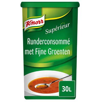 Knorr Supérieur Runderconsommé met Fijne Groenten Poeder 30L