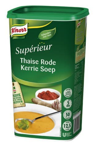 Knorr Supérieur Thaise Rode Curry Soep
