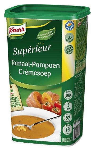 Knorr Supérieur Tomaat-Pompoen Crèmesoep Poeder 13L