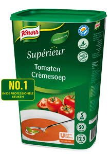 Knorr Supérieur Tomaten Crèmesoep