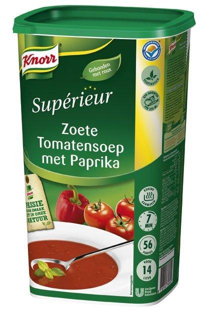 Knorr Supérieur Zoete Tomatensoep met Paprika Poeder 14L