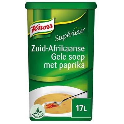 Knorr Supérieur Zuid-Afrikaanse Gele soep met paprika Poeder 17L