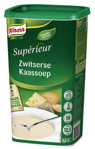 Knorr Supérieur Zwitserse Kaassoep