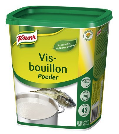 Knorr Visbouillon Authentiek Poeder 42L