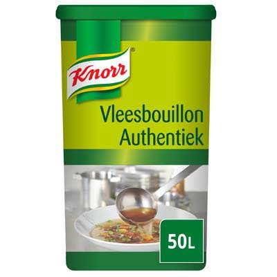 Knorr Vleesbouillon Authentiek Poeder 50L -